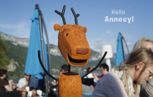 Deer Says Hello Annecy